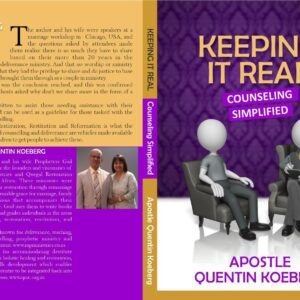 Keep It Real – Relationships and Counselling Simplified by Quentin Koeberg